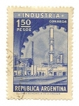 Sellos de America - Argentina -  Undustria