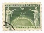 Sellos de America - Argentina -  Unión Postal Universal