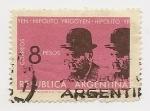 Sellos de America - Argentina -  Hipólito Yrigoyen