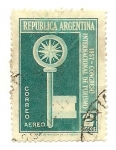 Sellos de America - Argentina -  Congreso Internacional de Turismo