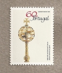 Sellos de Europa - Portugal -  Cetro real