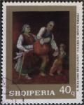 Sellos del Mundo : Europa : Albania : Refugjatet  de Abdurrahim Buza (1905)