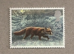 Sellos de Europa - Reino Unido -  Fauna de invierno