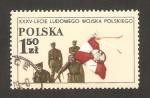 Sellos de Europa - Polonia -  35 anivº del ejército polaco