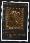 Sellos del Mundo : Asia : Bhután : The penny black