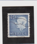 Sellos de Europa - Suecia -  Gustavo Adolfo VI