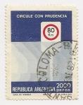Sellos de America - Argentina -  Circule con Prudencia