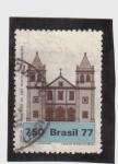 Sellos del Mundo : America : Brasil : Iglesia de El Misterio de San Benito- Río de Janeiro
