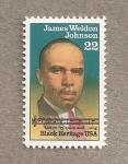 Sellos de America - Estados Unidos -  James Welden Johnson, diplomático, abogado y educador