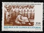 Sellos de Africa - Guinea Ecuatorial -  50 aniversario fin 2ª guerra mundial