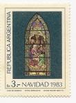 Sellos de America - Argentina -  Vitral Bariloche