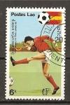 Sellos de Asia - Laos -  Mundial España 82.