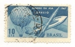 Sellos de America - Brasil -  Semana Da Asa