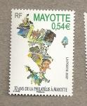 Sellos del Mundo : Africa : Mayotte : 10 años de filatelia en Mayotte