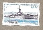 Sellos del Mundo : Europa : Territorios_Antárticos_Franceses : Barco Tonquinés