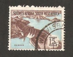 Sellos del Mundo : Africa : Namibia : embalse de hardap
