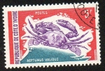 Sellos del Mundo : Africa : Costa_de_Marfil : Neptunus Validus
