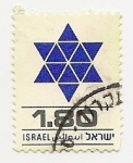 Sellos de Asia - Israel -  Definitives (Estrella de David)