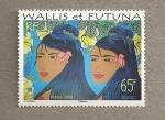 Sellos del Mundo : Oceania : Wallis_y_Futuna : Indigenas