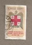 Sellos del Mundo : America : Chile :  Congreso Internacional de Medicina y Farmacia Militares
