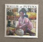 Sellos del Mundo : Oceania : Wallis_y_Futuna : Escena de la vida cotidiana