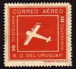 Sellos de America - Uruguay -  Rvioles