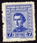 Sellos de America - Uruguay -  Jose G Artigas