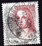Sellos de Europa - Italia -  Mujer