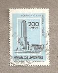 Sellos del Mundo : America : Argentina : Monumento a la Bandera, Rosario
