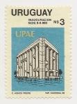 Sellos de America - Uruguay -  Inauguración Sede UPAE