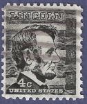 Sellos del Mundo : America : Estados_Unidos : USA Lincoln 4c