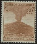 Sellos del Mundo : America : Colombia : Volcan Galeras