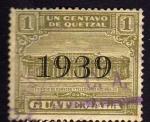 Sellos de America - Guatemala -  Edificio de correos y telegrafos