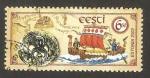 Sellos del Mundo : Europa : Estonia : barcos antiguos comerciales