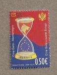 Sellos del Mundo : Europa : Montenegro : Reloj arena