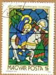 Sellos del Mundo : Europa : Hungría : Vidrieras religiosas