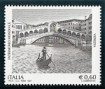 Sellos del Mundo : Europa : Italia : Venecia y sus canales