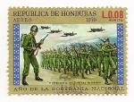 Sellos de America - Honduras -  Año de la Soberanía Nacional
