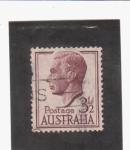 Sellos de Oceania - Australia -  Jorge VI