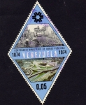 Sellos de America - Venezuela -  centenario del Minis. Obras Publicas