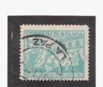 Sellos del Mundo : America : Bolivia : Revolución popular del 21 de julio de 1946