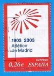 Sellos de Europa - España -  nº 3983  Centenario del Clud Atletico de Madrid