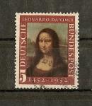 Sellos del Mundo : Europa : Alemania :  5º Centenario del nacimiento de Leonardo da Vinci