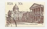 Sellos de Africa - Sudáfrica -  Definitives buildind (Old Legislative, Assembly Building)