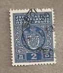 Sellos de Europa - Yugoslavia -  Escudo real