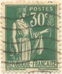 Sellos del Mundo : Europa : Francia : Postes Republique française