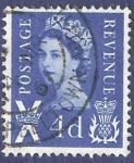 Sellos del Mundo : Europa : Reino_Unido : UK Postage Revenue X 4d
