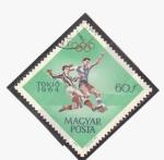 Sellos de Europa - Hungría -  Tokio 64