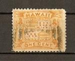 Sellos del Mundo : America : Estados_Unidos : Hawaii / Escudo de Hawaii