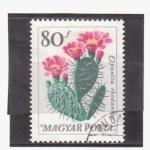 Sellos de Europa - Hungría -  serie- Plantas